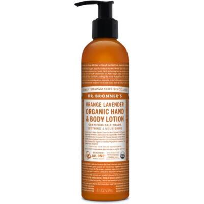 Dr. Bronner's Orange Lavender Organic Lotion 240ml