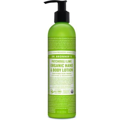 Dr. Bronner's Patchouli Lime Organic Lotion 240ml