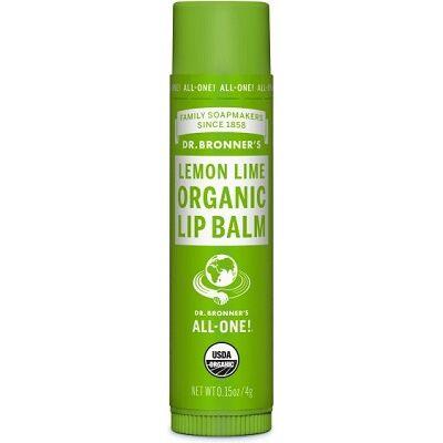 Dr. Bronner's Lemon Lime Organic Lip Balm 4g