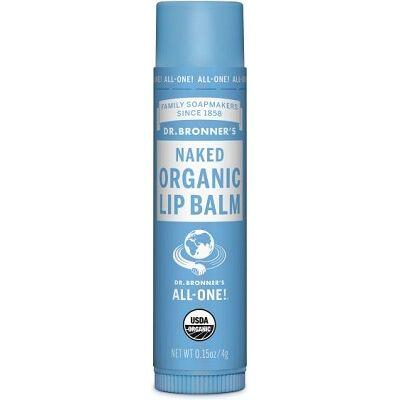 Dr. Bronner's Naked Organic Lip Balm 4g