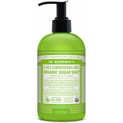 Dr. Bronner's Organic Sugar Soap - Lemongrass-Lime 355ml