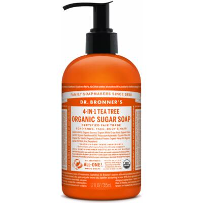Dr. Bronner's Organic Sugar Soap - Tea Tree 355ml