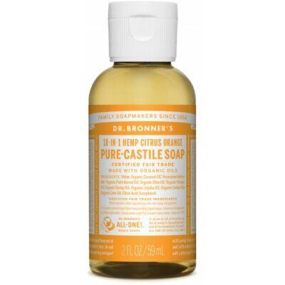 Dr. Bronner's Citrus-Orange Pure-Castile Liquid Soap 60ml