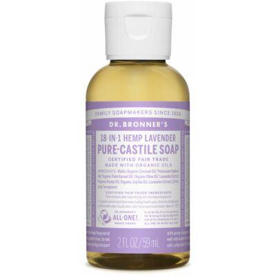 Dr. Bronner's Lavender Pure-Castile Liquid Soap 60ml