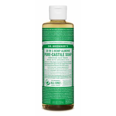 Dr. Bronner's Almond Pure-Castile Liquid Soap 240ml