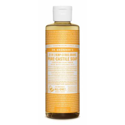 Dr. Bronner's Citrus-Orange Pure-Castile Liquid Soap 240ml