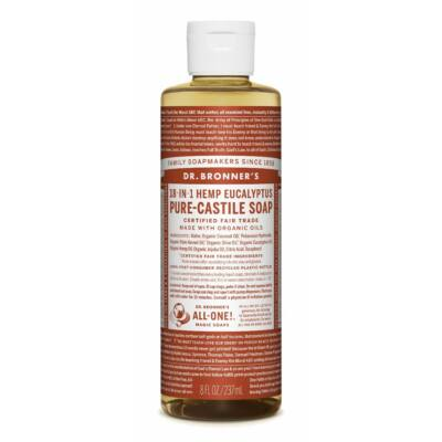 Dr. Bronner's Eucalyptus Pure-Castile Liquid Soap 240ml
