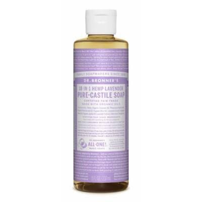 Dr. Bronner's Lavender Pure-Castile Liquid Soap 240ml