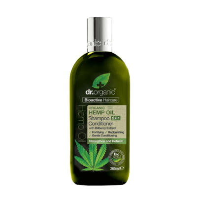 Dr. Organic Hemp Oil 2 in 1 Shampoo and Conditioner 265ml