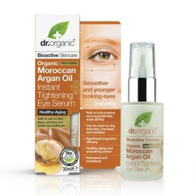 Dr. Organic Moroccan Argan Oil Instant Tightening Eye Serum 30ml
