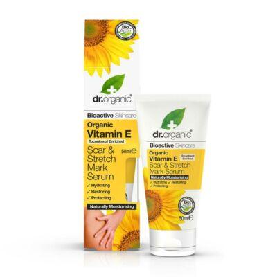 Dr. Organic Vitamin E Scar and Stretchmark Serum 50ml