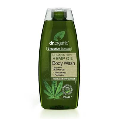 Dr. Organic Hemp Oil Body Wash 250ml