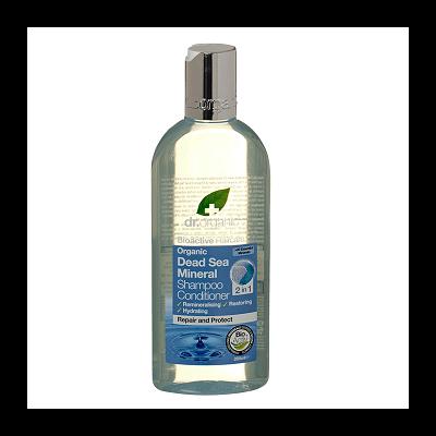 Dr. Organic Dead Sea Mineral Shampoo and Conditioner 2 in 1 265ml