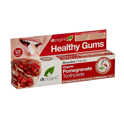 Dr. Organic Pomegranate Toothpaste 100ml