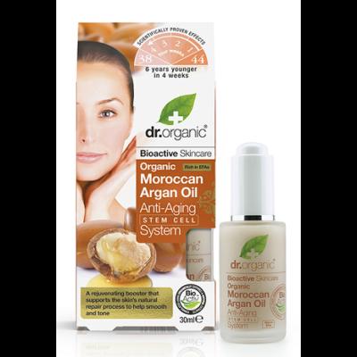 Dr. Organic Moroccan Argan Oil Stem Cell Anti-Ageing System 30ml