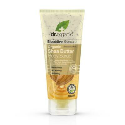 Dr. Organic Shea Butter Creamy Body Scrub 200ml