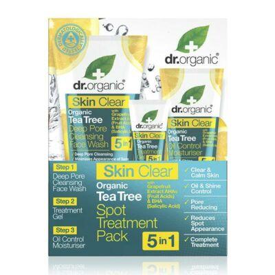 Dr. Organic Skin Clear 5 in 1 Spot Treatment Pack