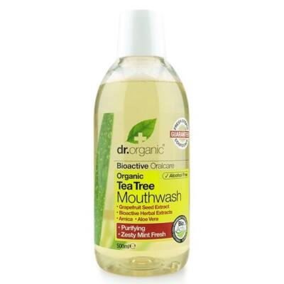 Dr. Organic Tea Tree Mouthwash 500ml