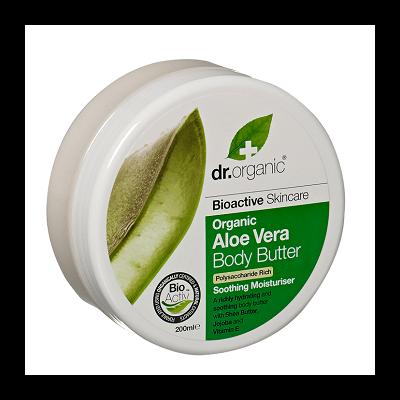 Dr. Organic Aloe Vera Body Butter 200ml