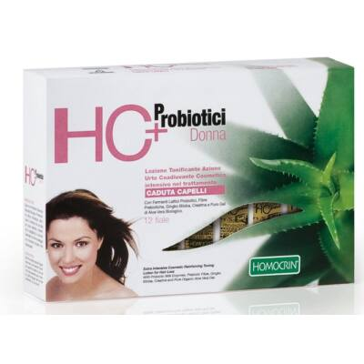HC+ Intensive Reinforcing Toning Lotion for Hair Loss - for Women 12×7ml