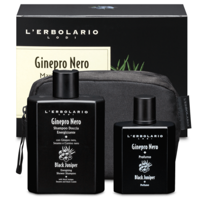 L'Erbolario Black Juniper Maxi Beauty-Set 50+250ml
