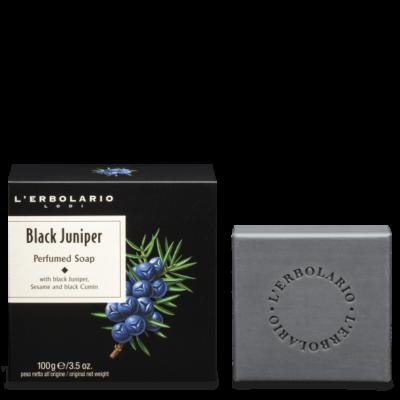 L'Erbolario Black Juniper Perfumed Soap 100g
