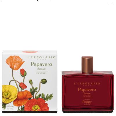 L'Erbolario Papavero Soave - Sweet Poppy Perfume 50ml