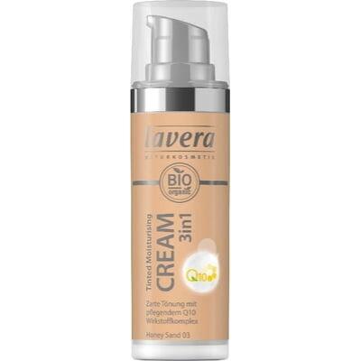 Lavera 3in1 Tinted Moisturising Cream Q10 Honey Sand 03 30ml