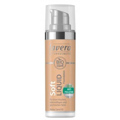 Lavera Natural Liquid Foundation - honey sand