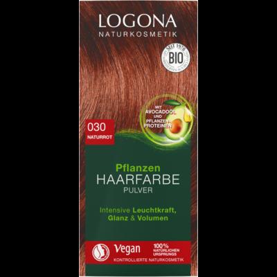 Logona Herbal Hair Colour Powder 030 - natural red 100g