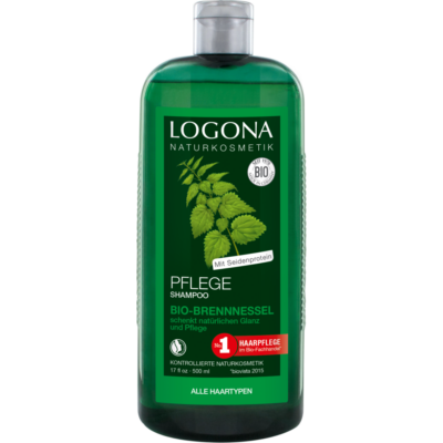 Logona Essential Care Shampoo Nettle - for every day use 500ml