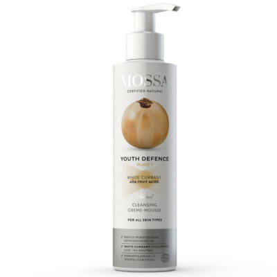 Mossa Cleansing Crème-Mousse with White Currant 200ml