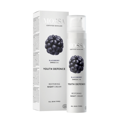 Mossa Youth Defence Restoring Night Cream with Blackberry 50ml