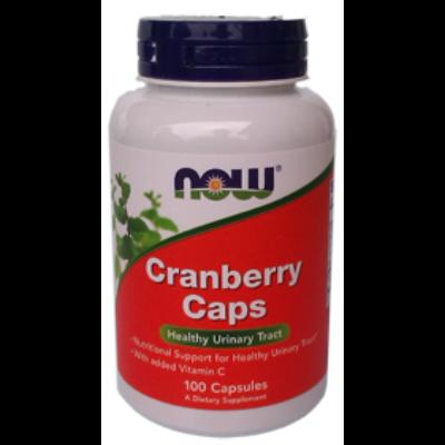 Now Cranberry 100 Capsules