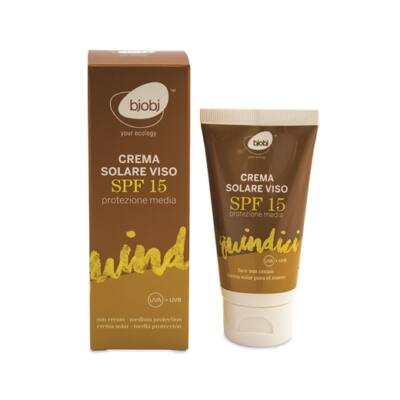 Bjobj Face Solar Cream SPF 15 50ml