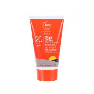 Bjobj Solar Fluid Cream SPF 20 125ml