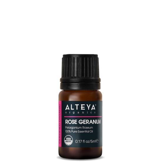 Alteya Organics Rózsageránium (Pelargonium roseum) illóolaj - bio 5ml