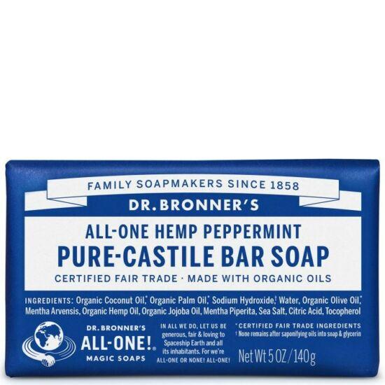 Dr. Bronner's Borsmenta szilárd szappan 140g