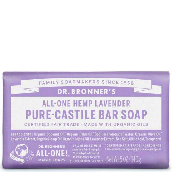 Dr. Bronner's Levendula szilárd szappan 140g