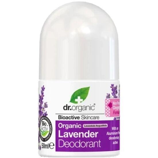 Dr. Organic Alumíniummentes golyós dezodor bio levendulával 50ml