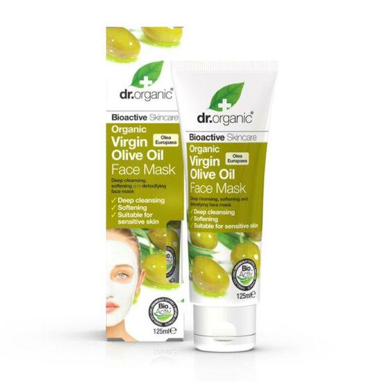 Dr. Organic Arcápoló pakolás bio olívaolajjal 125ml