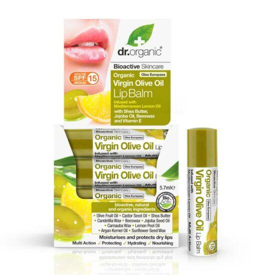 Dr. Organic Ajakbalzsam bio olívaolajjal 5,7ml