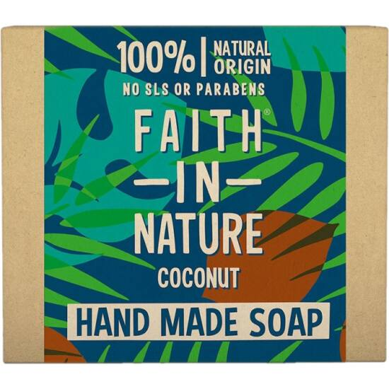 Faith in Nature Kókusz szappan 100g
