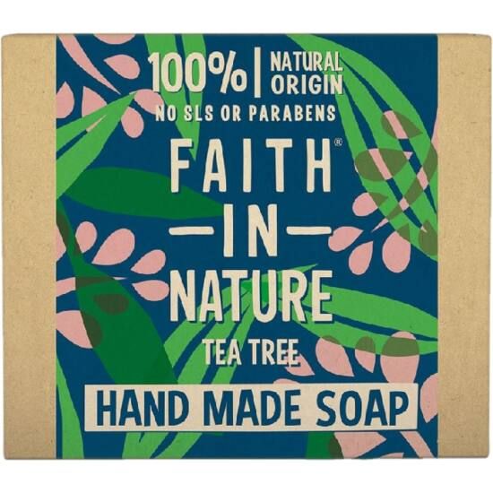 Faith in Nature Bio teafa szappan 100g