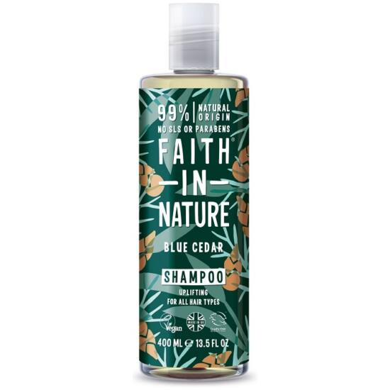 Faith in Nature Kék cédrus sampon férfiaknak 400ml