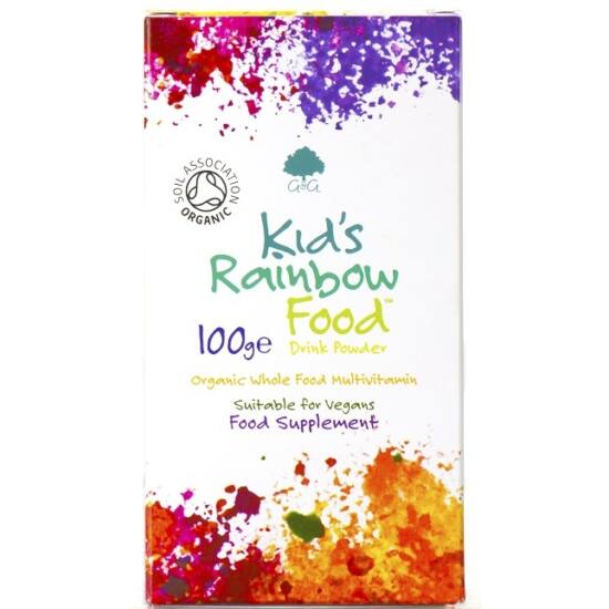 G&G Kid's Rainbow Food organikus multivitamin gyerekeknek 100g por