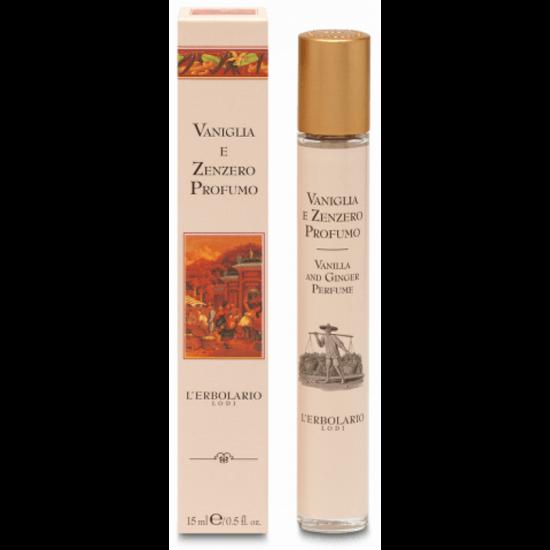 L'Erbolario Vanília-gyömbér Parfüm 15ml