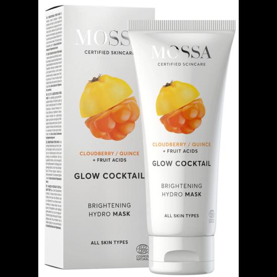 Mossa Glow Cocktail Bőrtónus élénkítő hydro-maszk 60ml