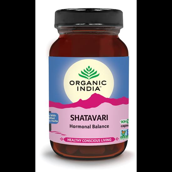 Organic India Bio Shatavari kapszula 90db