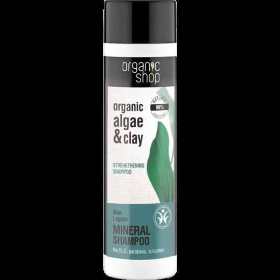 Organic Shop Sampon Ásványi Erősítő Kék lagúna 280ml